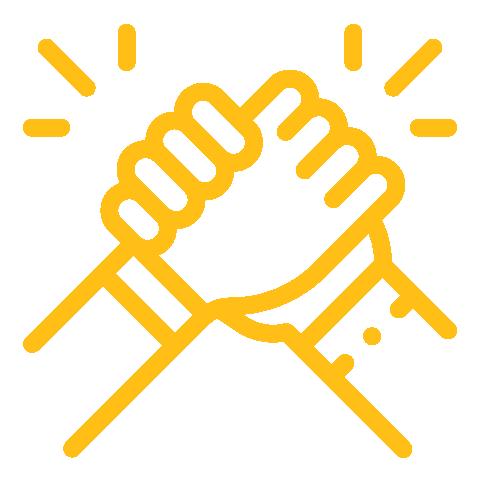 Handshake -yellow