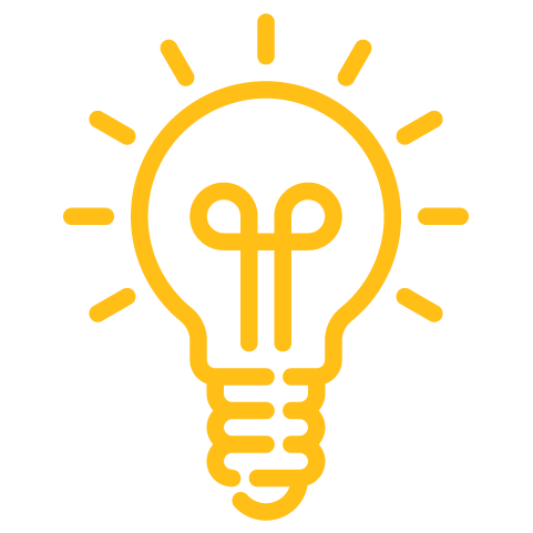 Lightbulb-yellow