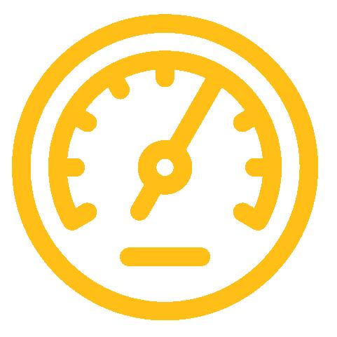 Speedometer-yellow
